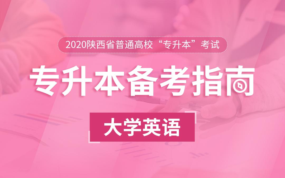 2020陕西统招专升本备考指南《大学英语》