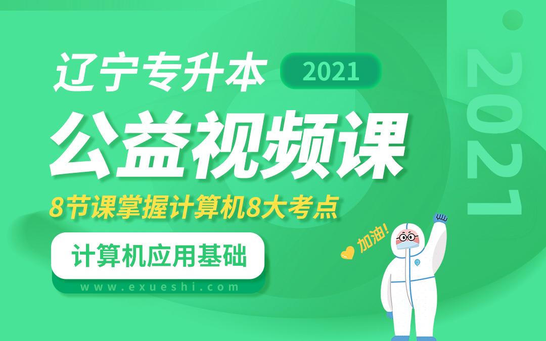 2021辽宁专升本公益课(计算机应用基础)